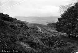 Skipton, Moors, Old Roman Road 1923