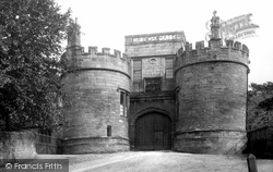 Skipton, The Castle, Entrance Gate 1888