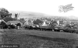Skipton, View From Park Hill c.1950