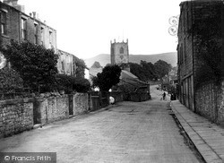 Skipton, View From Raikes Road c.1915
