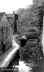 Skipton, Woods, The Canal c.1947