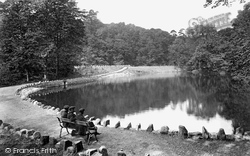 Skipton, Woods, The Mill Dam 1911