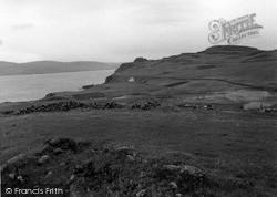 Skye, Dun Boreraig 1962
