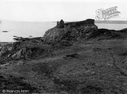 Skye, Dun Scaich Castle 1962