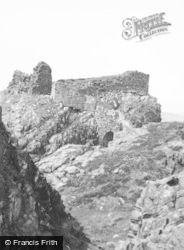 Skye, Dunscaith Castle 1962
