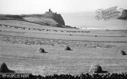 Skye, Duntulm Castle 1936