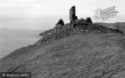 Skye, Duntulm Castle 1962