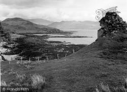 Skye, Knock Castle, Sleat 1962