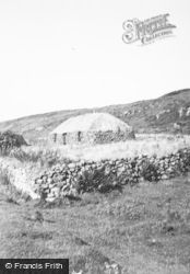 Skye, Old Cottage c.1955