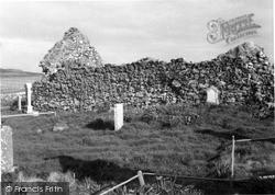 Skye, Trumpan Church 1962