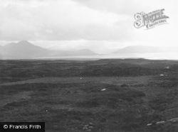Skye, View Form Lusa, Kylerhea Road 1962