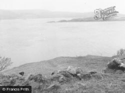 Skye, View From The Braes, Towards Raasay 1962