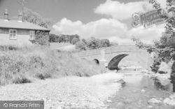 Croasdale Bridge c.1945, Slaidburn