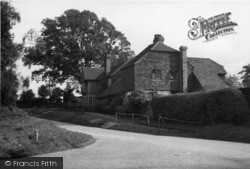 Slaugham, Furnace Cottages c.1955