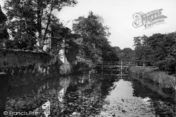 Slaugham, Slaugham Place, The Moat c.1955