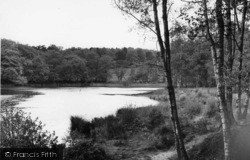 Slaugham, The Lake c.1960