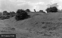 Folkingham Castle Mound 1953, Sleaford