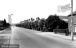 Grantham Road c.1965, Sleaford