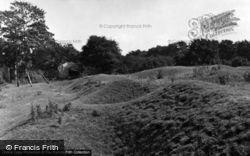 Sleaford Castle Remains 1953, Sleaford