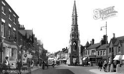 Sleaford, South Gate And The Handley Monument c.1950