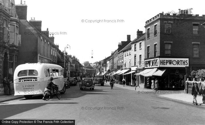 Sleaford Southgate C 1950 Francis Frith