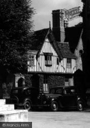 St Denys's Vicarage c.1950, Sleaford