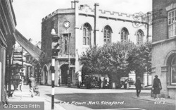 Sleaford, The Town Hall c.1950