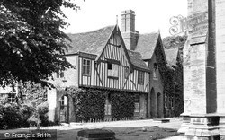 Sleaford, The Vicarage c.1955