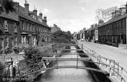 West Banks c.1955, Sleaford