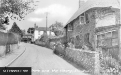 Slindon, Newburgh Arms And The Vinery c.1960
