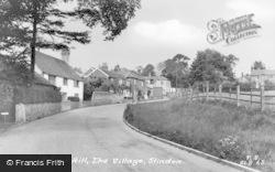 Slindon, School Hill c.1960