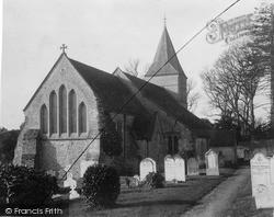 Slindon, St Mary's Church 1890