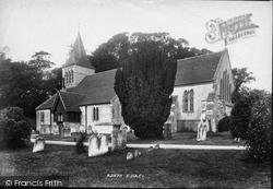Slindon, St Mary's Church 1898