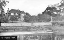 Slindon, The Pond And Pond House c.1955