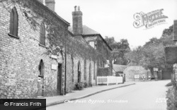 Slindon, The Post Office c.1955
