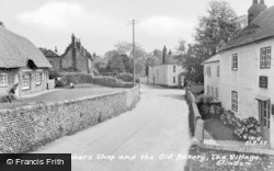 Slindon, Ye Olde Butchers Shop And The Old Bakery c.1960