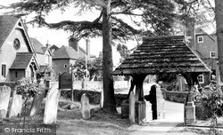 Slinfold, The Lychgate c.1965