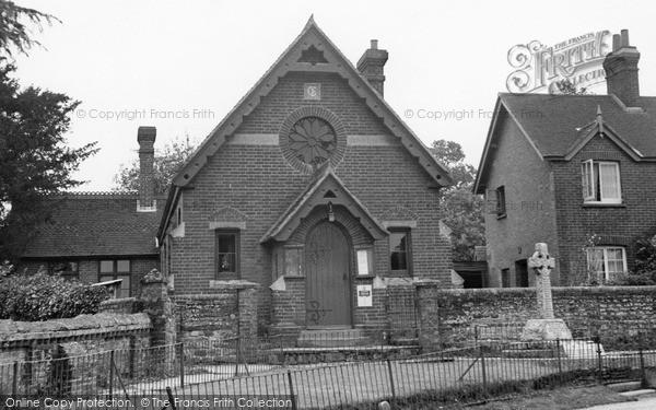 Photo of Slinfold, Village Hall c.1955