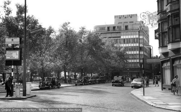 Photo of Sloane Square, c.1965