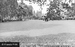 Sloane Square, Cricket Ground, Royal Hospital c.1960