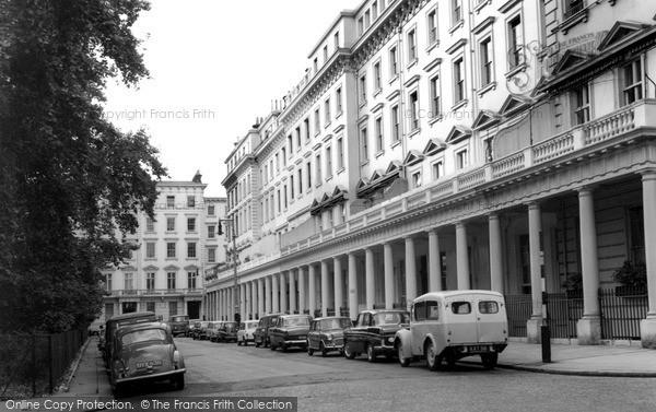 Sloane Square, Eaton Terrace c1965