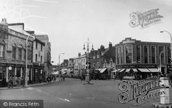 Slough, Crown Corner c.1955