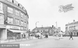 Slough, High Street And William Street c.1965