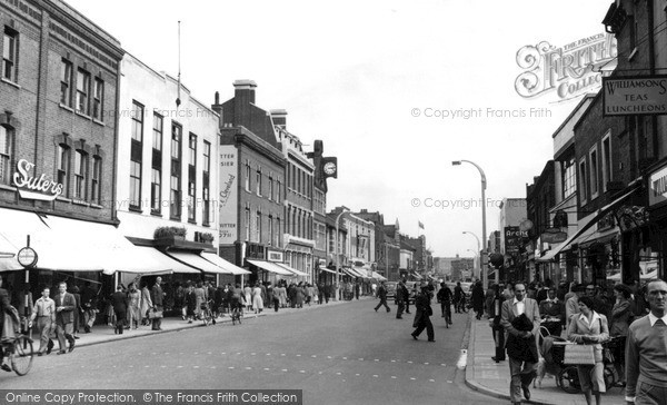 Photo of Slough, High Street c.1955