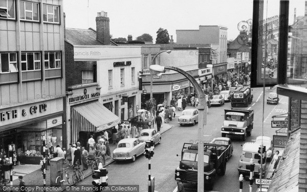 High Street c1960, Slough