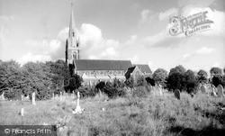 Slough, St Mary's Church c.1960