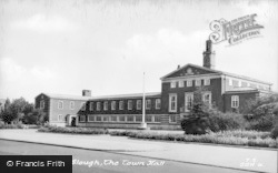 Slough, The Town Hall c.1950