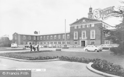 Slough, The Town Hall c.1965