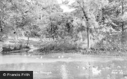 Slough, Upton Park c.1960