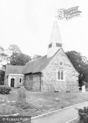 Slough, Wexham Church c.1955